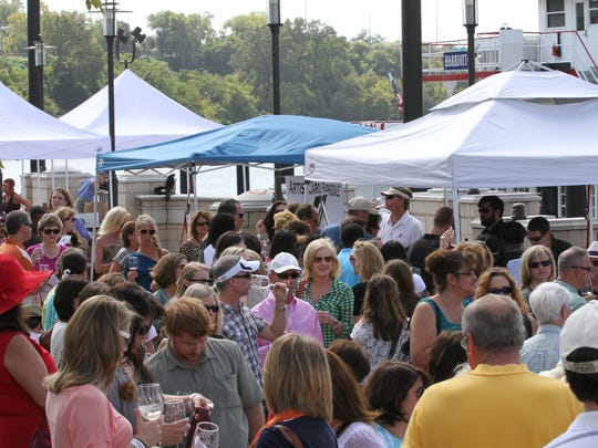 The Riverwalk Wine Festival returns to Riverfront Park on Saturday.