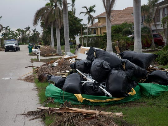 File: Marco Island, one month after Irma.
