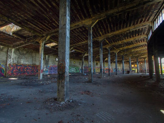 Lehigh Valley Railroad Roundhouse, Manchester, Ontario County