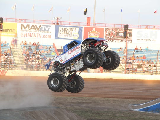 """The Monster Truck Nationals """"Eve of Destruction"""" will"""