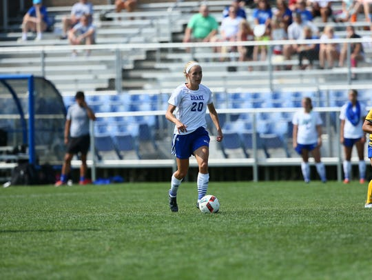 Johnston grad Rachel Wanninger has scored three goals