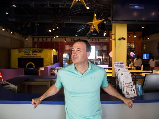 Simon Kreisberger stands inside the Play Factory in Scottsdale on June 24, 2017. Kreisberger was an early business associate of Frank Capri in the Phoenix area.