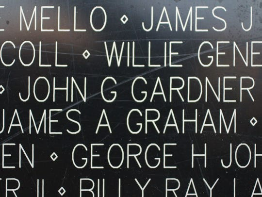 The name of Hot Springs-born John G. Gardner, an Army