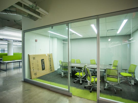 The newly-renovated 1819 Innovation Hub, in the old