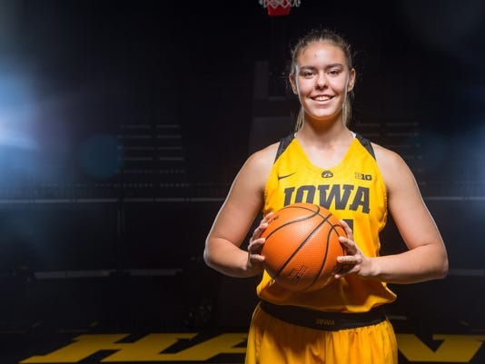 Expect a heavy practice role for Iowa women's raw ...