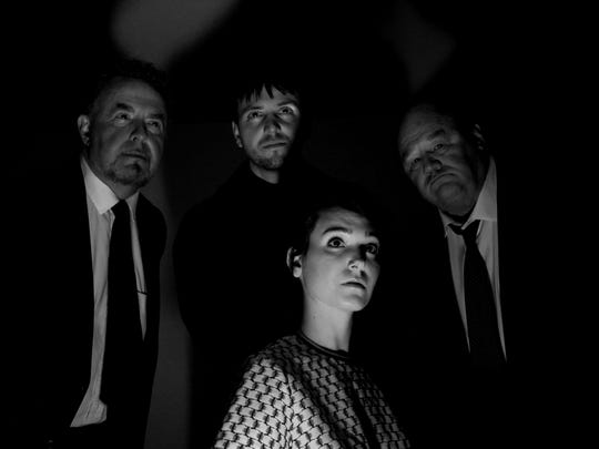 Cast of The Masquers' 'Wait Until Dark' shown in the dark. Lighting will play a key role in the telling of the story at Capitol Civic Centre.