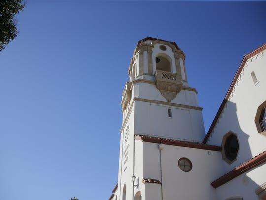 The Salinas High School Bell tower.