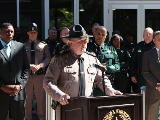Florida Highway Patrol Col. Gene Spaulding said in