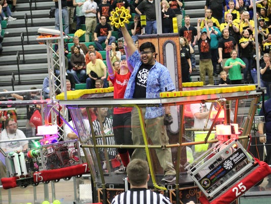 North Brunswick Township High School Robotics competition