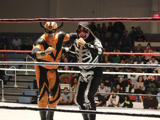Lucha Libre wrestling is coming to Fort Bliss on Friday at the Stout Physical Fitness Center.
