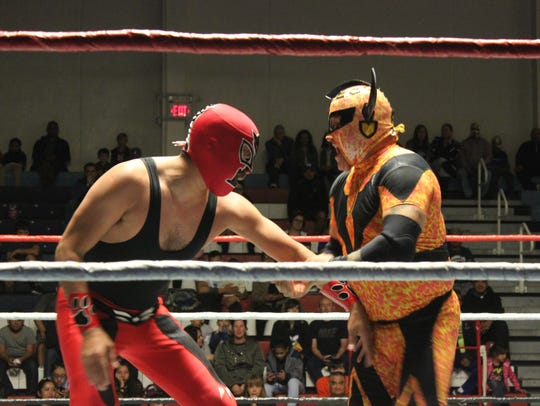 Lucha Libre wrestling is coming to Fort Bliss on Nov.