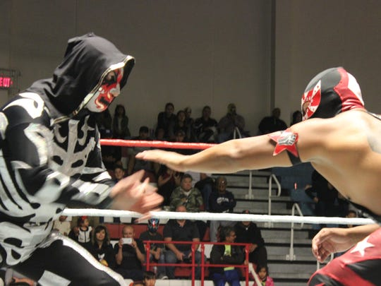 Lucha Libre wrestling is coming to Fort Bliss on Nov. 17 at Stout Physical Fitness Center.