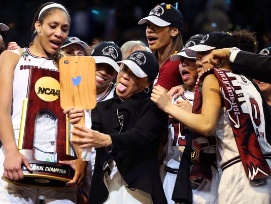 USP NCAA WOMENS BASKETBALL: WOMEN'S FINAL FOUR-MIS S BKW USA TX
