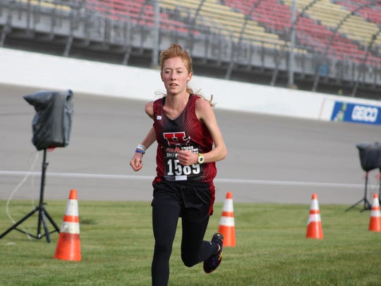 Div. 3 girls winner: Adelyn Ackley, Hart junior (17:49.4)