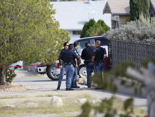 El Paso police investigate an officer-involved shooting