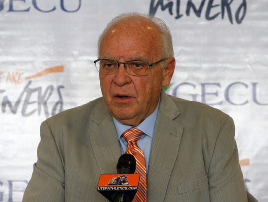 Mike Price, UTEP football interim head coach discusses