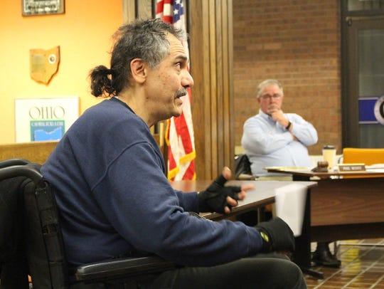 Mansfield resident John Precup discusses medical marijuana