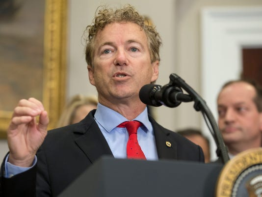 EPA (FILE) USA RAND PAUL POL GOVERNMENT USA DC