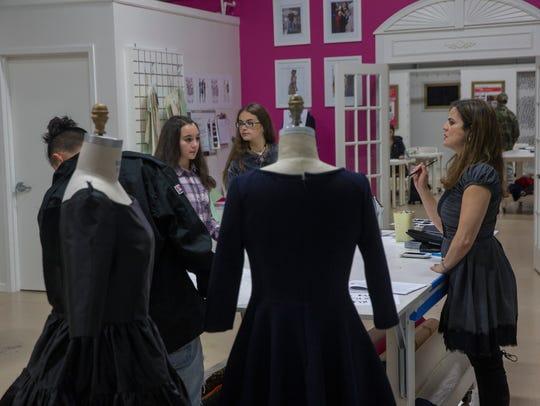 Karen Lozner, owner of Karen's School of Fashion in
