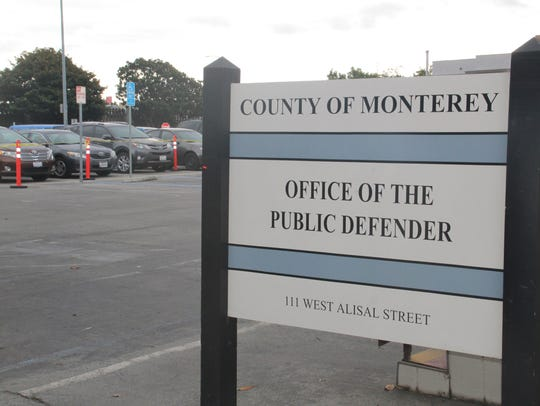 The temporary homeless shelter is currently open at the former Monterey County Public Defender's modular office.