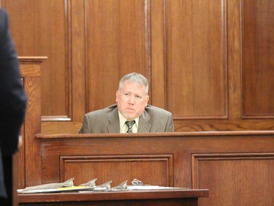 Clarksville Police Detective Frederick McClintock testifies