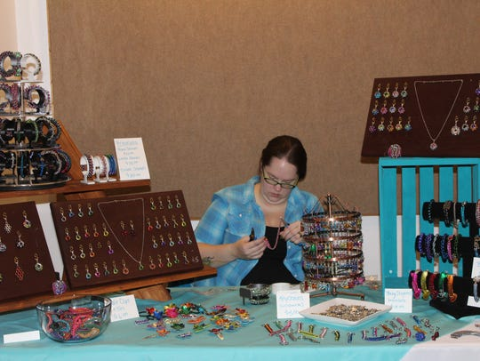 Local artists and crafters will be set up throughout