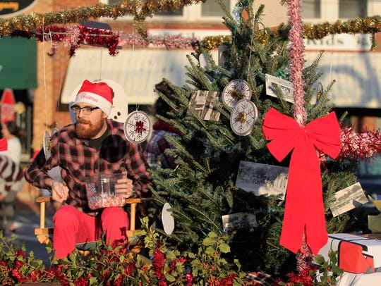 Downtown Black Mountain is filled with holiday cheer as Black Mountain-Swannanoa Chamber of Commerce presents Holly Jolly.