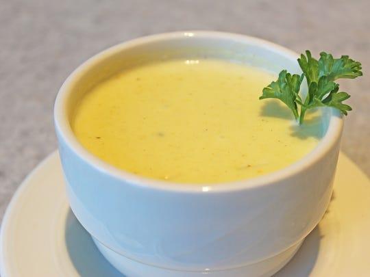 L.S. Ayres chicken velvet soup.