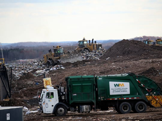 High Acres in Perinton is permitted by the New York State Department of Environmental Conservation to receive 3,500 tons of refuse per day. During 2017, approximately 50 percent or 1,750 tons per day was delivered by rail, with the balance by truck.