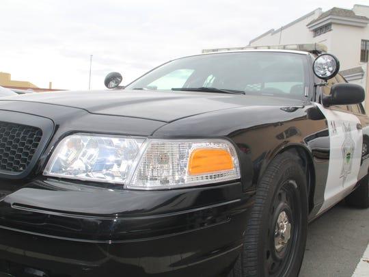 A Salinas Police squad car.
