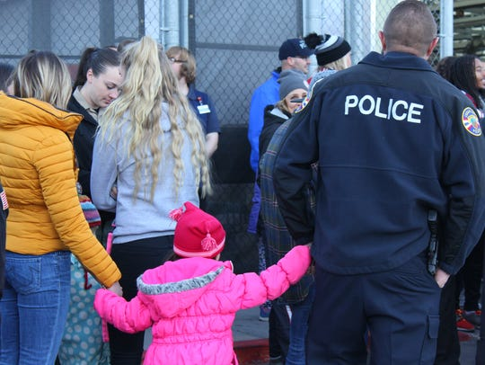Cedar City's annual Shop With A Cop event, Saturday,