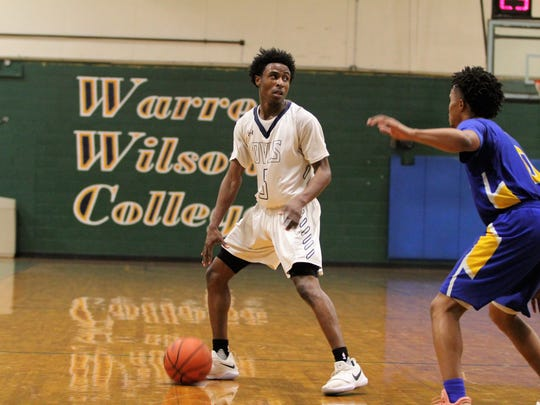 Warren Wilson College senior Marques Sullivan was one of seven Owls in double digits in a 148-85 win at home over Georgia Northwestern Technical College.