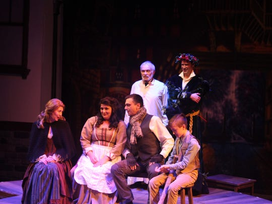 "Strauss Theater's ""A Christmas Carol"""