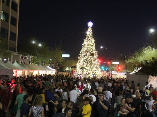 Merry Main Street in Mesa pictured.