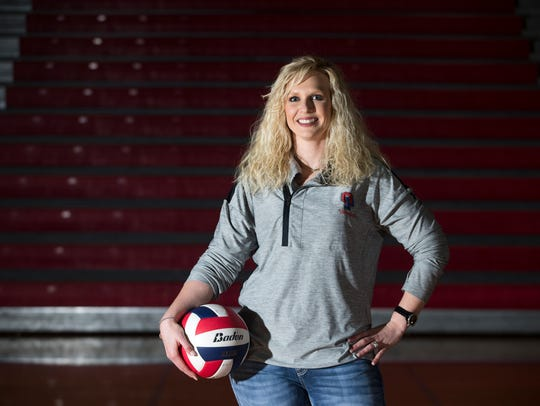 All-South Texas Volleyball Coach of the Year Adrian Smith