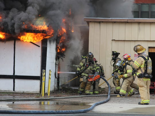 The Tallahassee Fire Department extinguished a fire that engulfed the iconic International Book Mine on Gaines Street Thursday afternoon. A TFD spokeswoman said the building was a total loss, and there were no injuries reported at the scene.