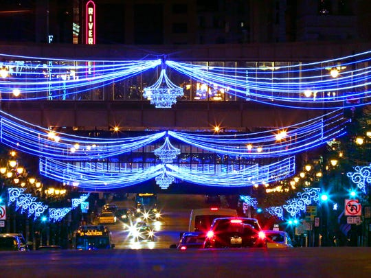 Downtown Milwaukee is getting lit up again this weekend.