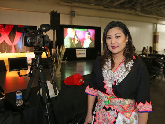 "Dawn Yang is the general manager of a TV show dedicated to the Hmong American community called ""Nyob Zoo Milwaukee."""