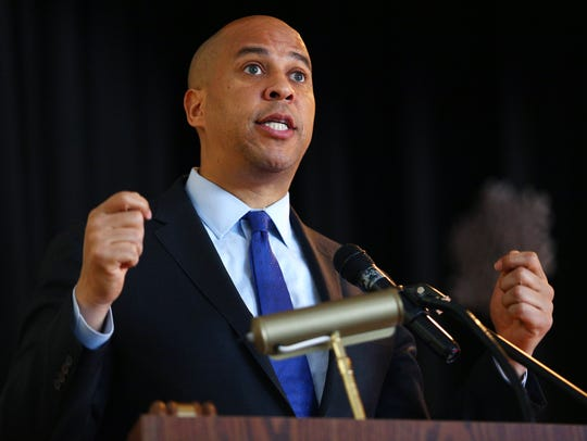 U.S. Senator Cory Booker gives the Keynote Address