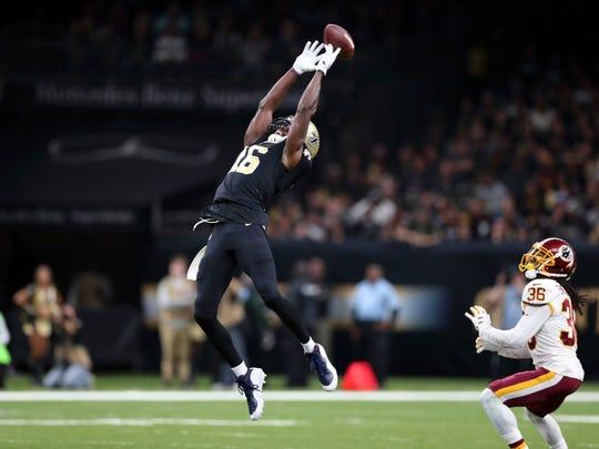 New Orleans Saints wide receiver Brandon Coleman, a former Rutgers standout.