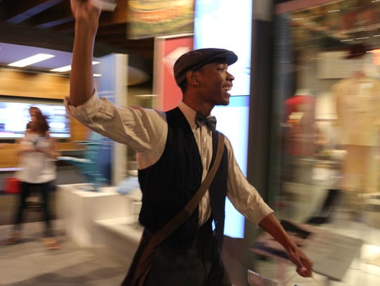 """Newsboy,"" one of the museum theatre performances to"
