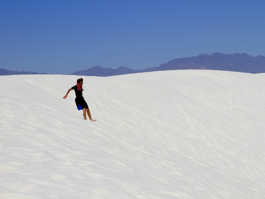 In this May 2016 file photo, a White Sands National