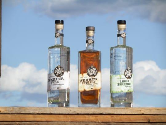 Denny Bar Co. makes vodka, bourbon whiskey and gin.