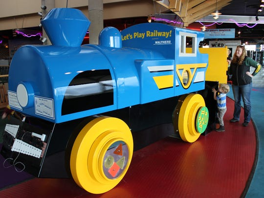 Let's Play Railway is in the special exhibits gallery
