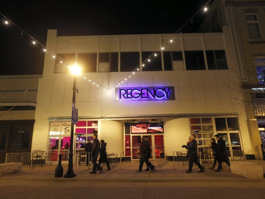 Scenes from opening night at the Regency in downtown