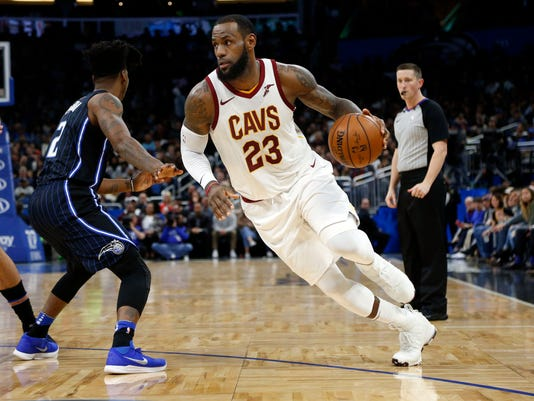 NBA: Cleveland Cavaliers at Orlando Magic