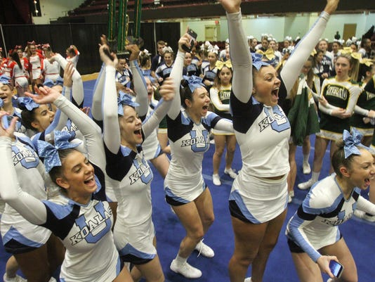 WESTCHESTER COUNTY CHEERLEADING INVITATIONAL