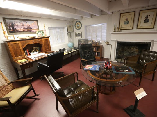 Inside look at the Grove Museum, former home of Gov. LeRoy Collins.