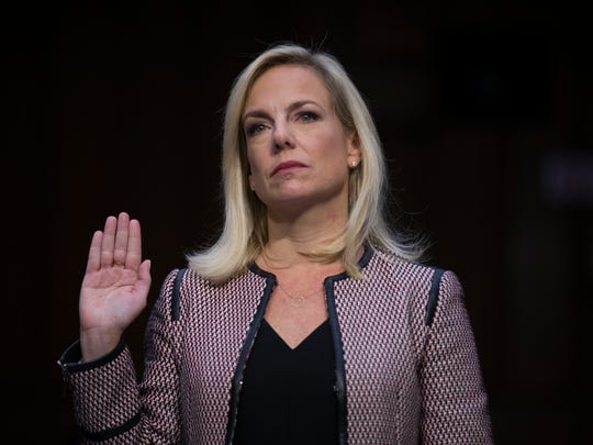 Secretary of Homeland Security Kirstjen Nielsen is