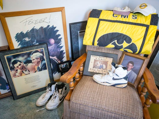Mike and Patty Street keep items to remember their